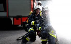 Feuer & Flamme - Einsatzübung